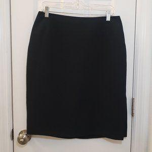Pencil Skirt Professional Black Worthington